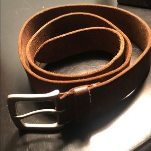 Men's Brown Leather Timberland Belt!
